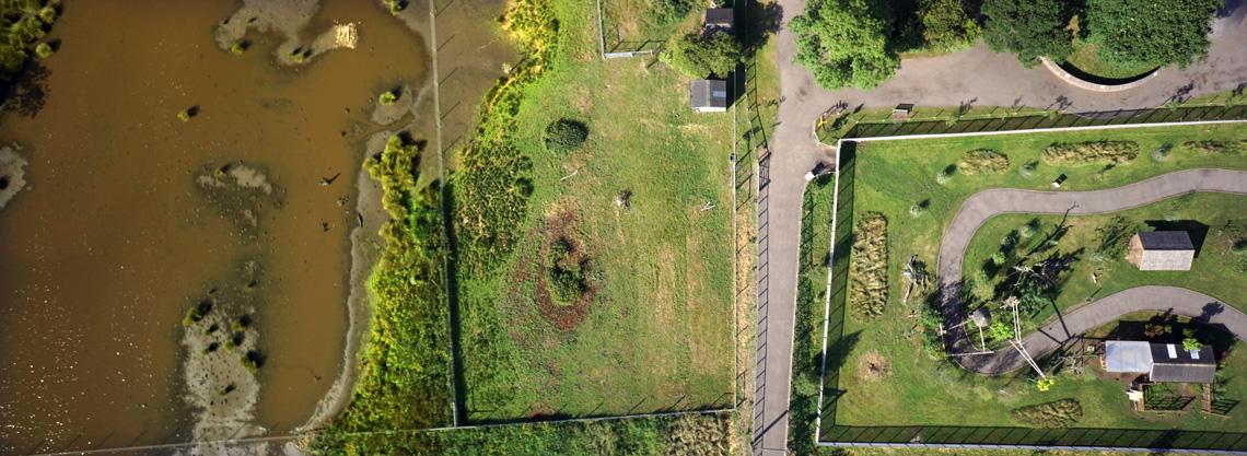 Yorkshire-Wildlife-Park-Zoo-Drone-UAV-Topgraphic-aerial-photography-survey-01