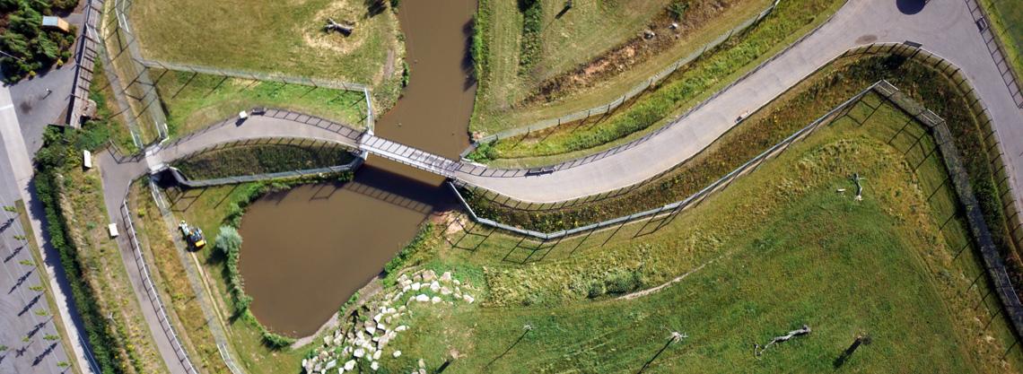 Yorkshire-Wildlife-Park-Zoo-Drone-UAV-Topgraphic-aerial-photography-survey-08