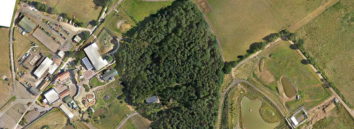 Yorkshire-Wildlife-Park-Zoo-Drone-UAV-Topgraphic-aerial-photography-survey-09